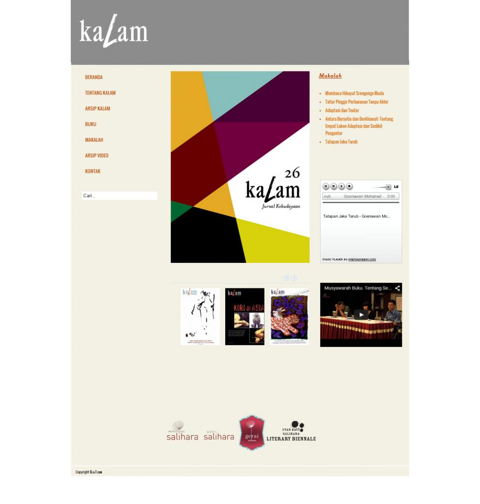 Salihara Old Website