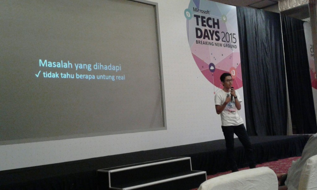 gCloud presenting